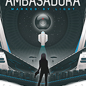 Ambasadora (Book 1 Marked by Light) book cover illustration by bradsharp