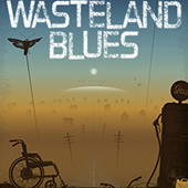 Wasteland book cover illustration by Bradsharp